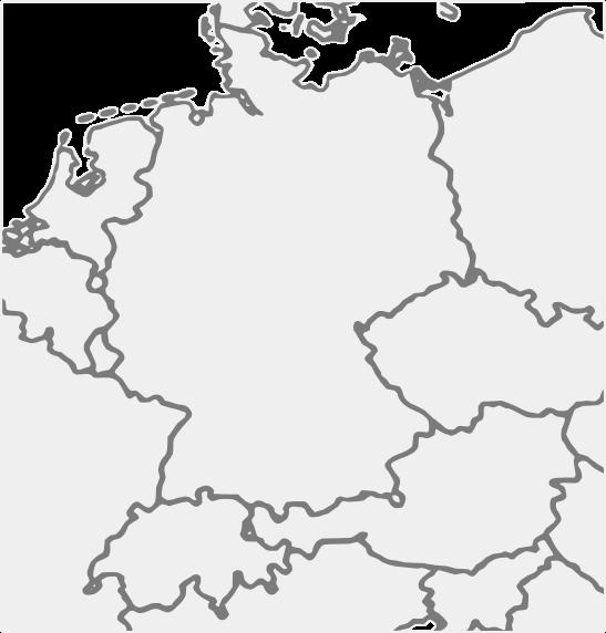 Deutschlandkarte Dackel