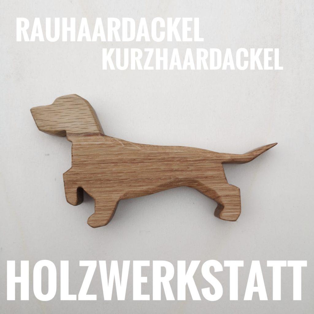 Dackel aus Holz