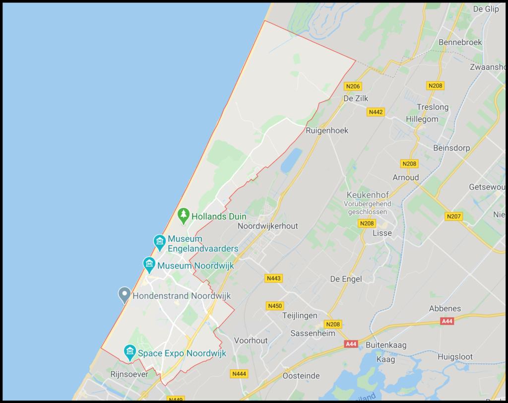 Noordwijk Hundestrand